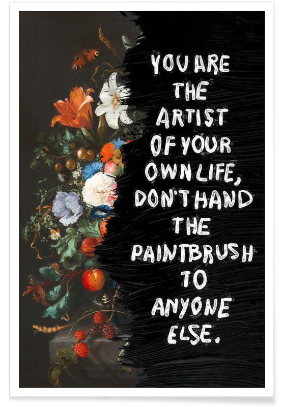 Motivation, You are the Artist affiche
