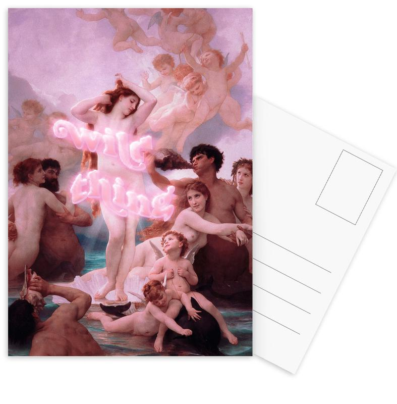 Gruppen, Wild Thing -Postkartenset