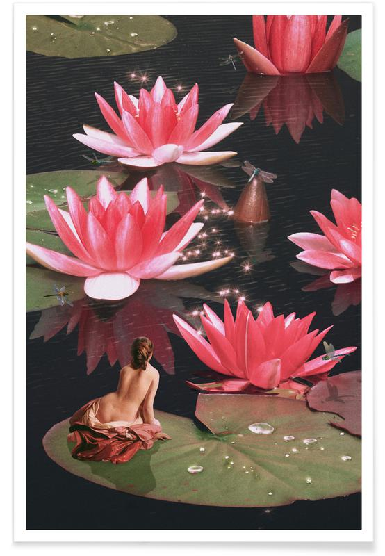 , Waterlily Nymph Poster