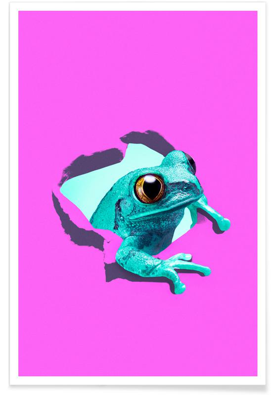 It's a frog -Poster