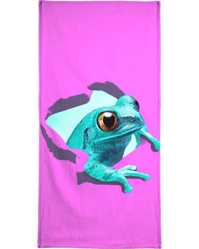 Glückwünsche, Geburtstage, It's a frog -Strandtuch