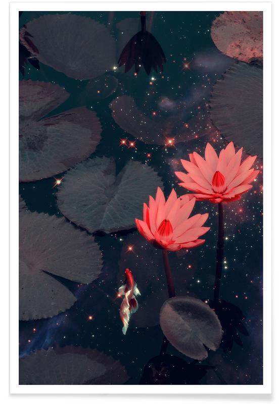 , Swimming Through Space Poster
