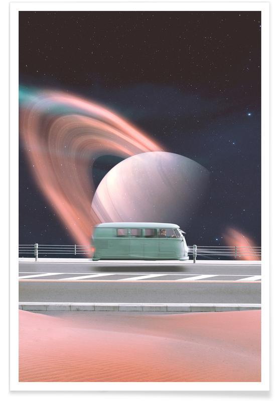 Fusées et vaisseaux spatiaux, Space Traveller affiche