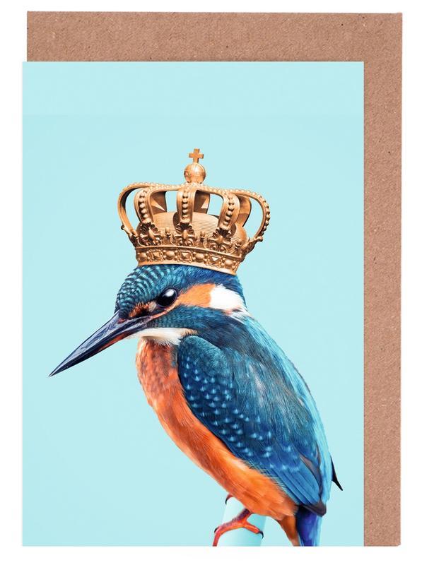 Kingfisher -Grußkarten-Set