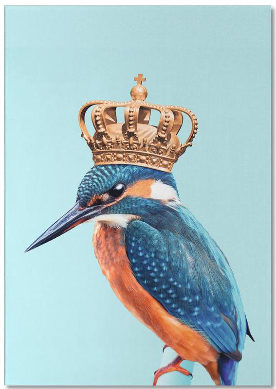 Kingfisher -Notizblock