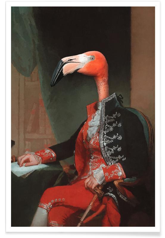 Lustig, Flamingos, Lord Flamingo -Poster