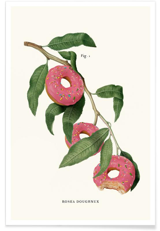 Grappig, Donut Plant poster