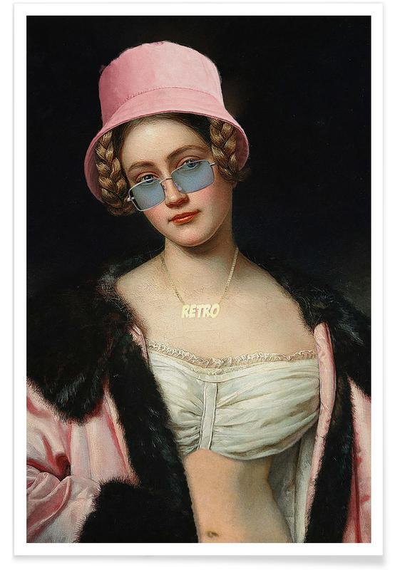 , Countess Caroline Poster