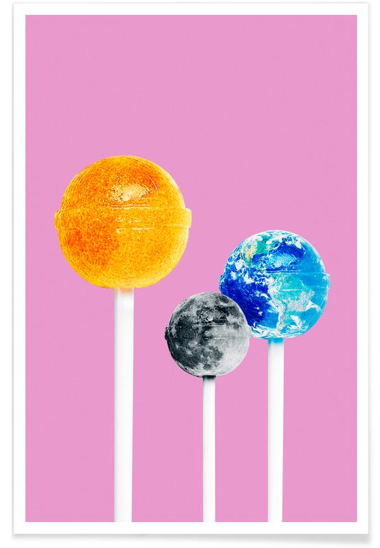 Slikkepinde, Lollipops Plakat