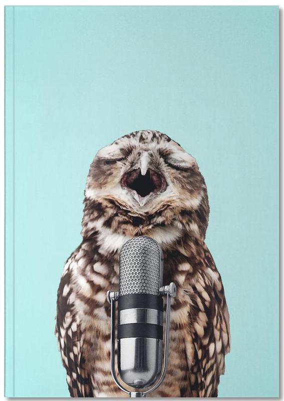 Owl Mic Notebook
