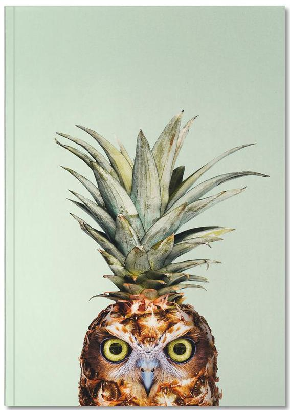Pineapple Owl Notebook