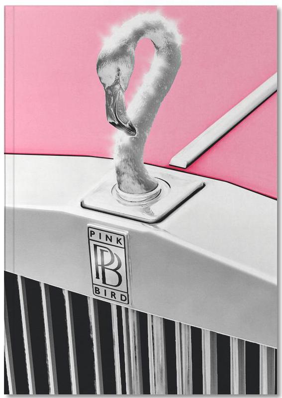 Autos, Lustig, Flamingos, Pink Bird Notebook