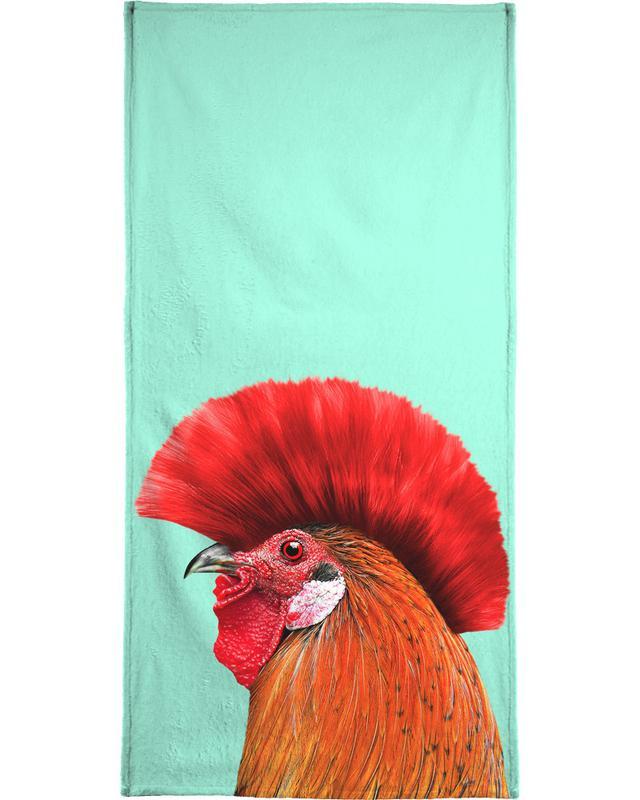 Punk Cock Bath Towel