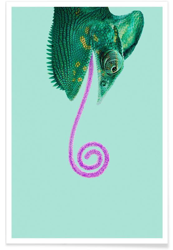 Candy Chameleon -Poster