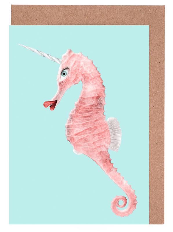 Sea Unicorn -Grußkarten-Set