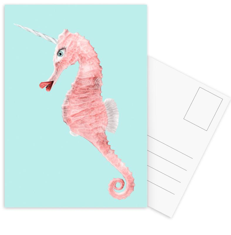 Sea Unicorn -Postkartenset
