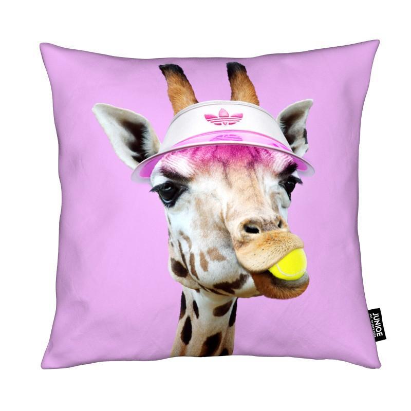 Funny, Giraffes, Tennis, Tennis Giraffe