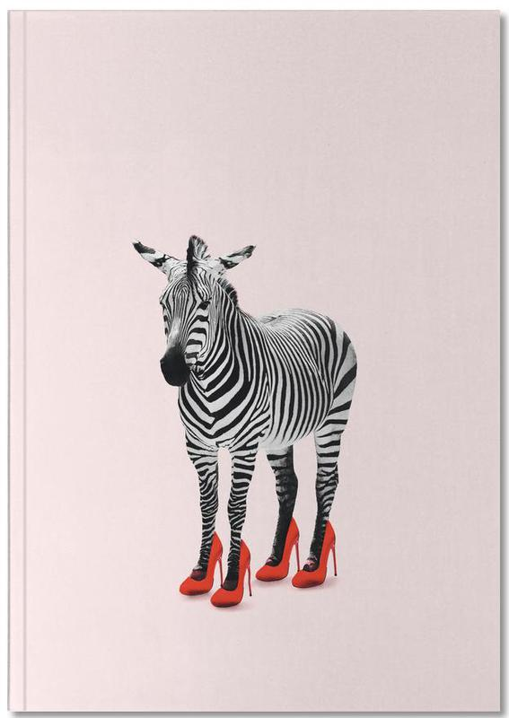 Grappig, Zebra's, Zebra Heels Notebook