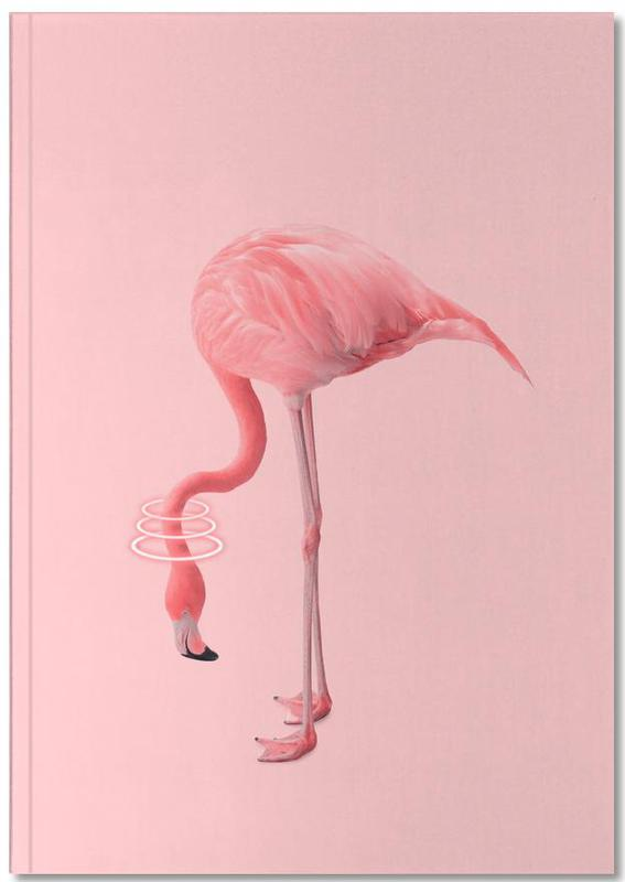 Neon Flamingo Notebook