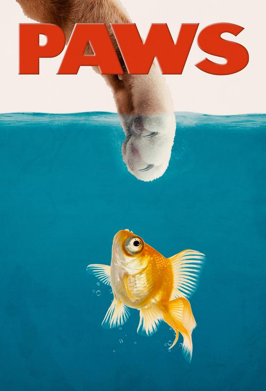 Paws Impression sur alu-Dibond