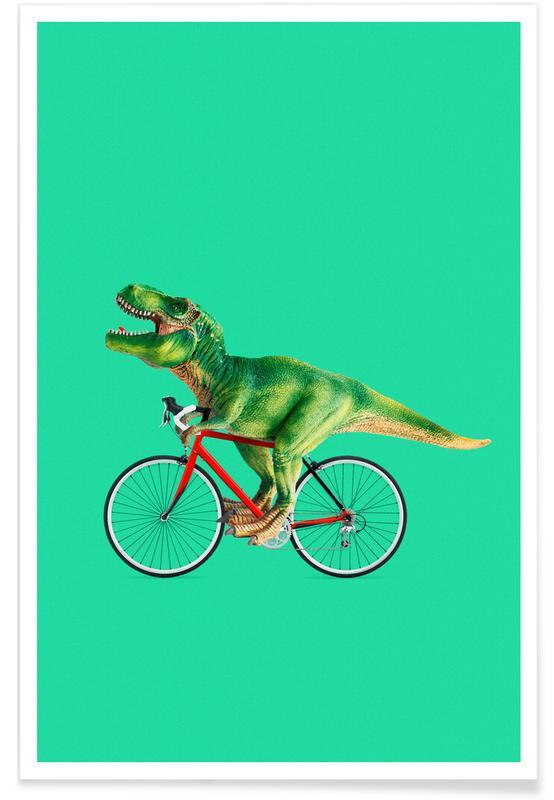 T-Rex Bike Plakat