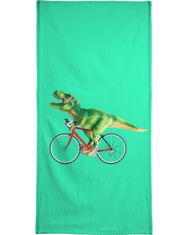 T-Rex Bike Beach Towel