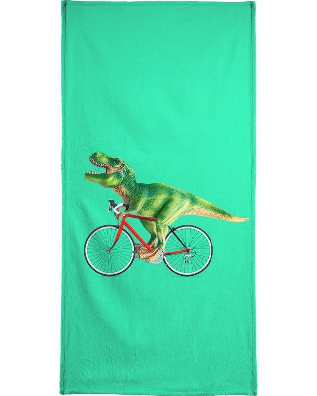 T-Rex Bike -Strandtuch
