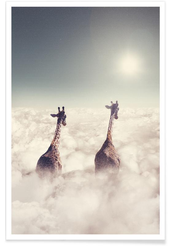 Girafes, Giant Giraffes affiche