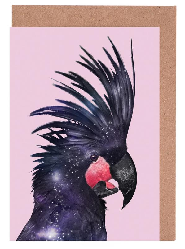 Galaxy Bird -Grußkarten-Set