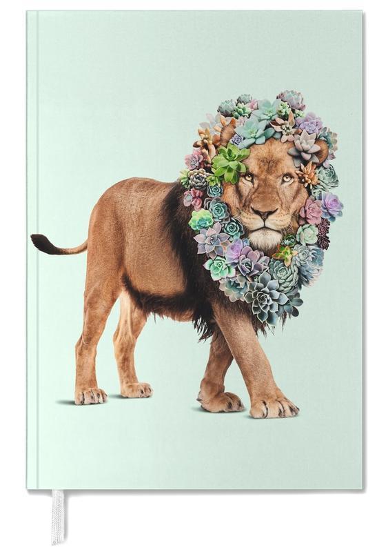 Lions, Succulent Lion Personal Planner