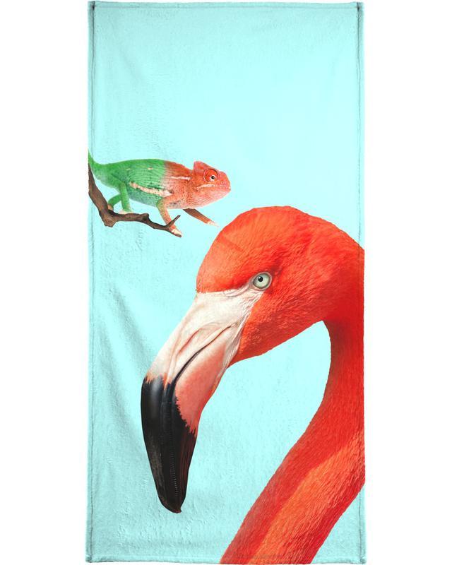 Colorful Friends Bath Towel