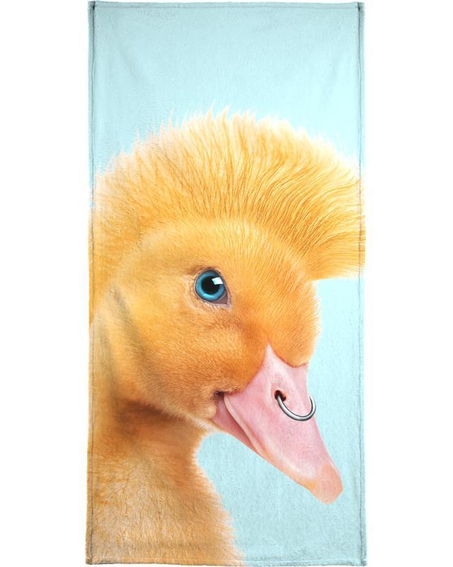 Rebel Duckling Bath Towel