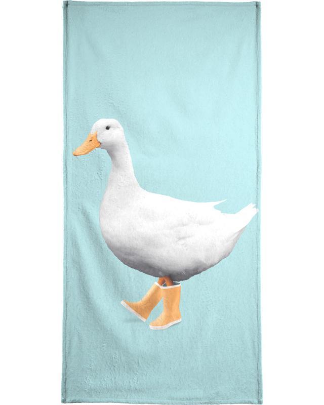Duck Boots Beach Towel