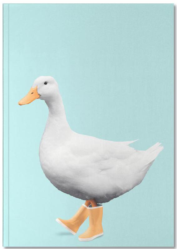 Canards, Humour, Art pour enfants, Duck Boots Notebook