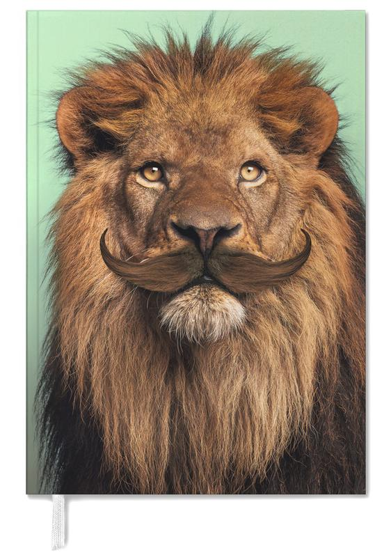 Funny, Lions, Bearded Lion Personal Planner