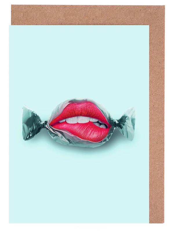 Candy Lips -Grußkarten-Set