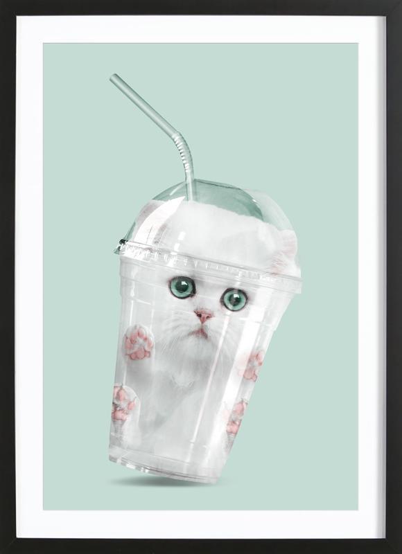 Catshake Framed Print