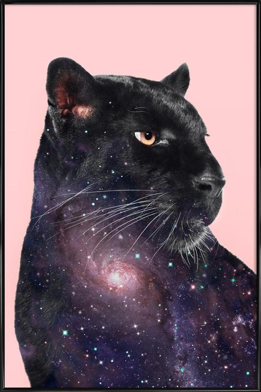 Galaxy Panther ingelijste poster