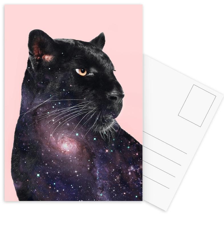 Galaxy Panther -Postkartenset
