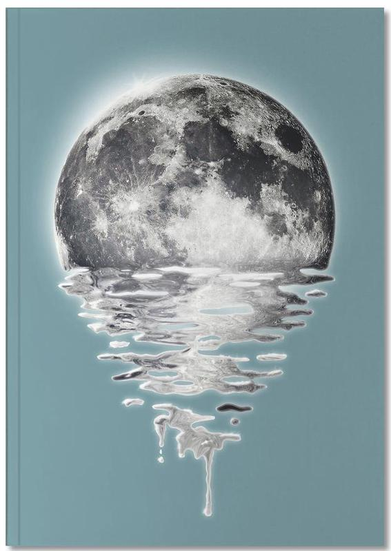 Melting Moon Notebook