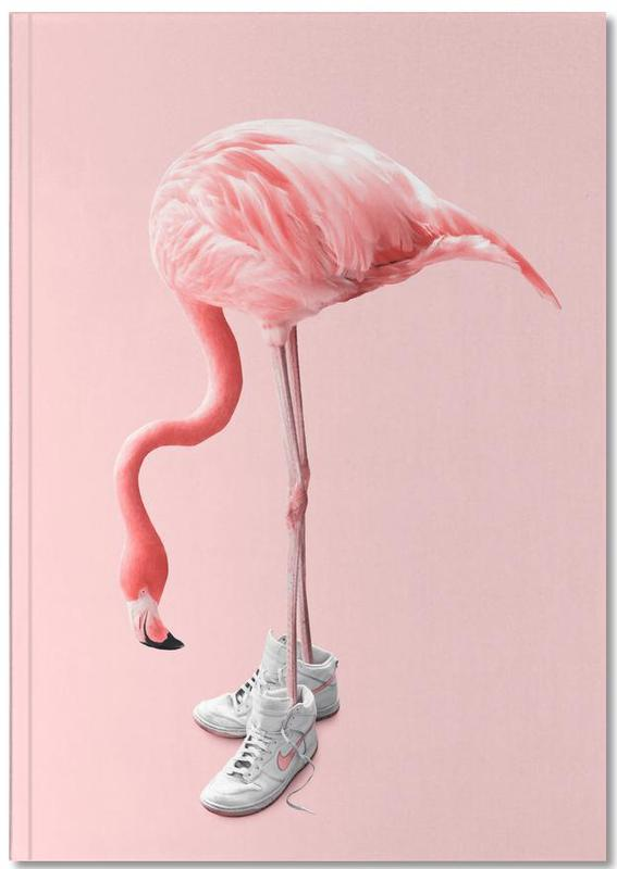 Sneaker Flamingo Notebook