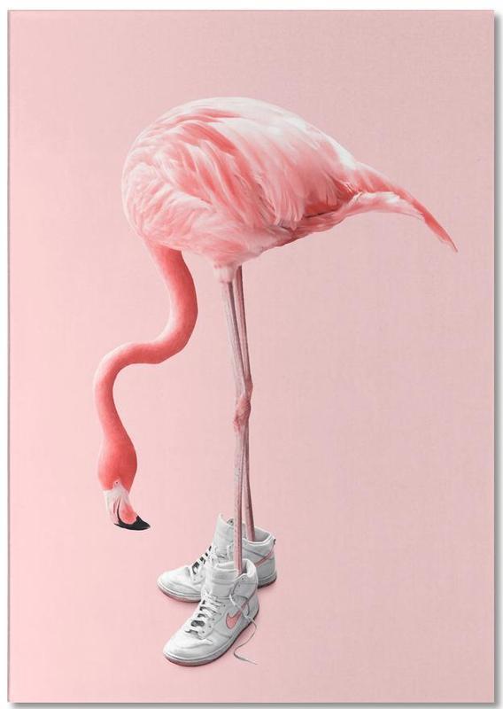 Sneaker Flamingo Notepad
