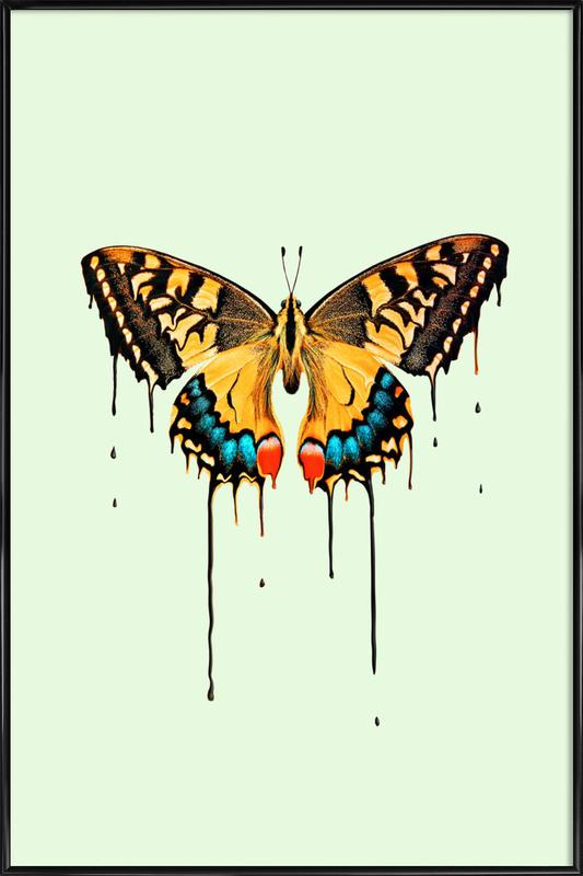 Melting Butterfly affiche encadrée