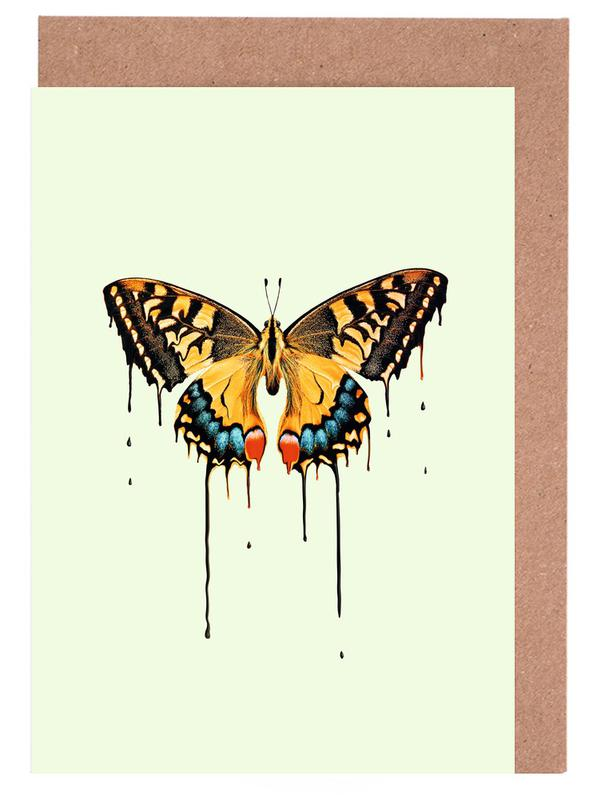 Melting Butterfly Greeting Card Set
