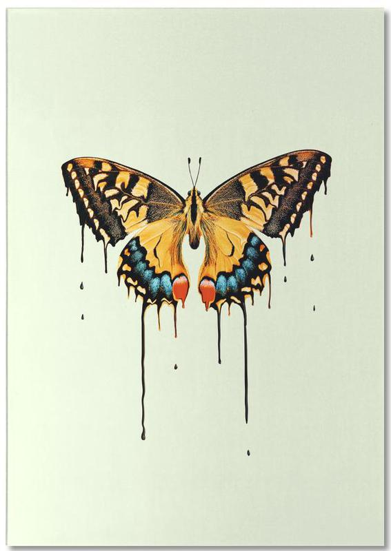 Melting Butterfly bloc-notes