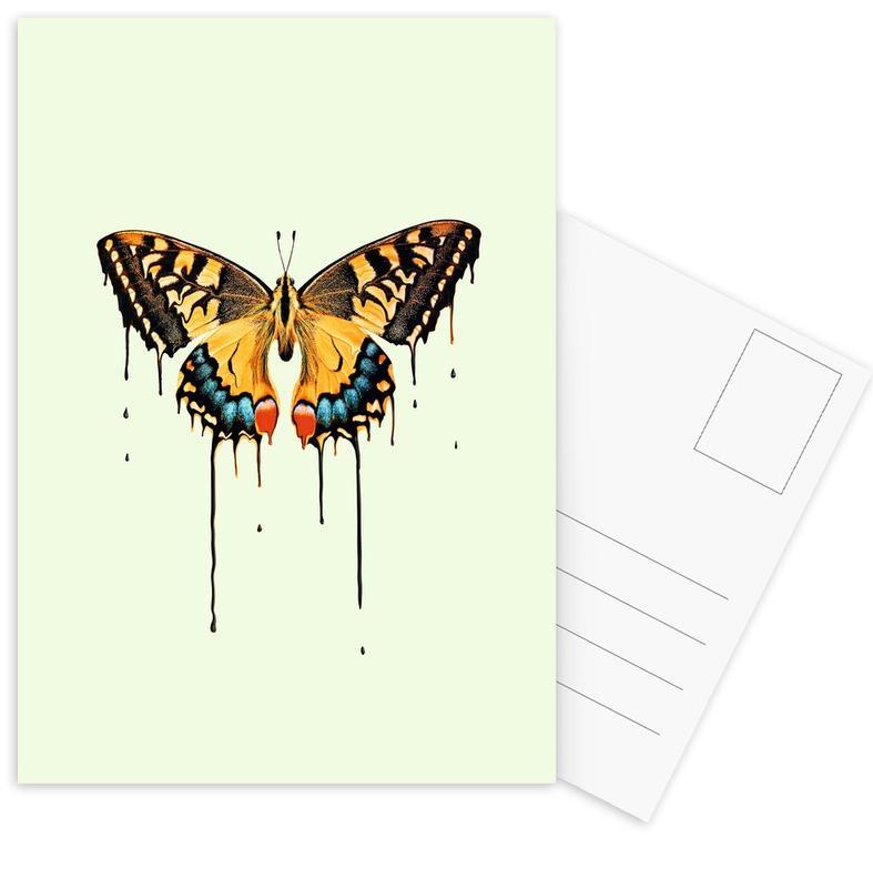 Melting Butterfly Postcard Set