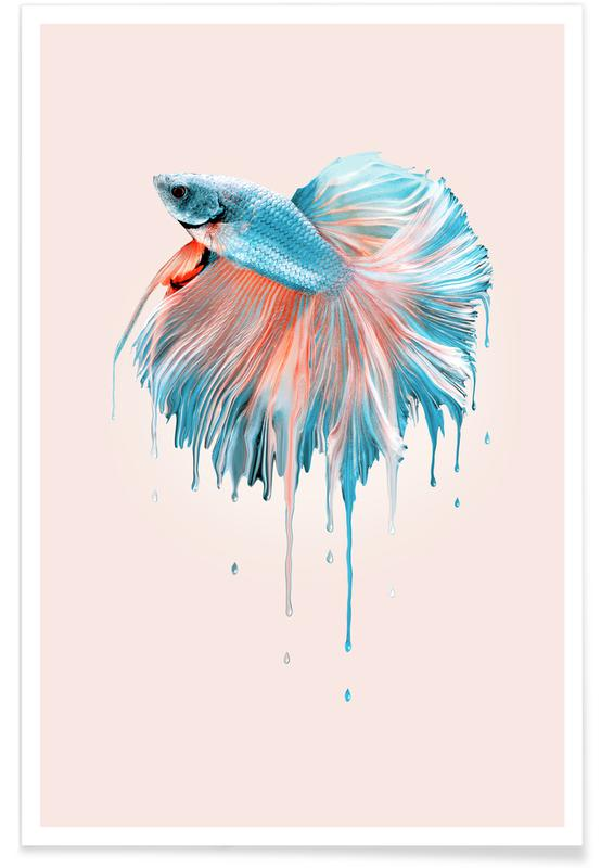 Vissen, Melting Fish poster