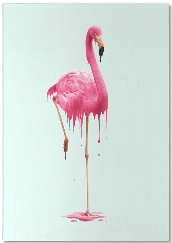 Melting Flamingo Notepad