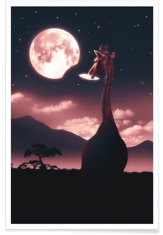 Girafes, Tasty Moon affiche