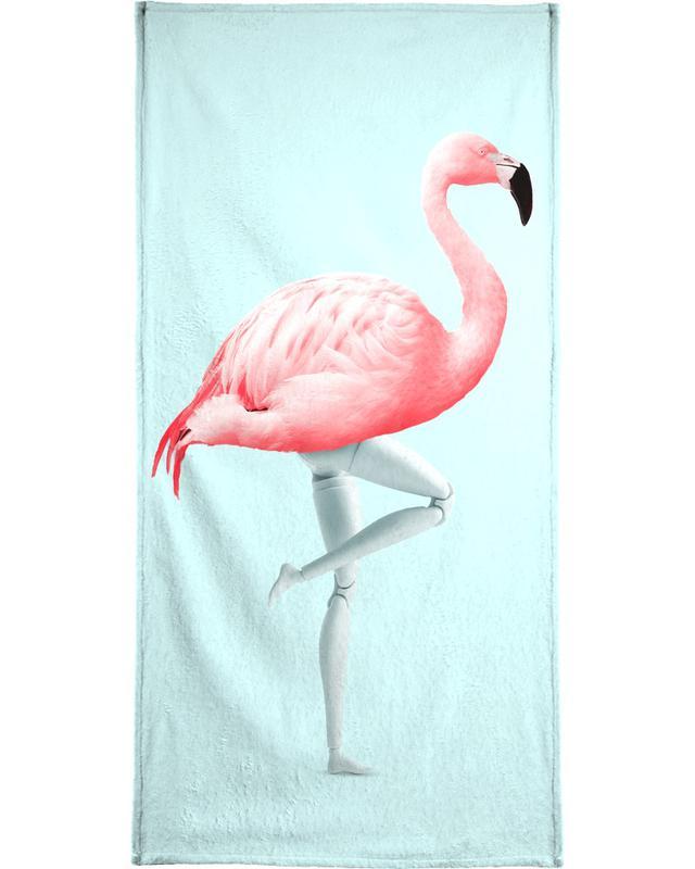 Flamingo Mannequin serviette de plage